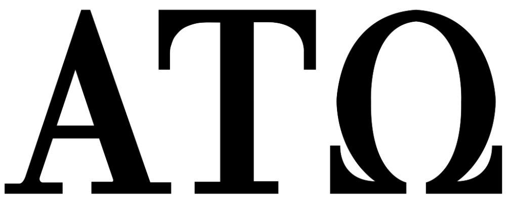 Alpha Tau Omega Letters