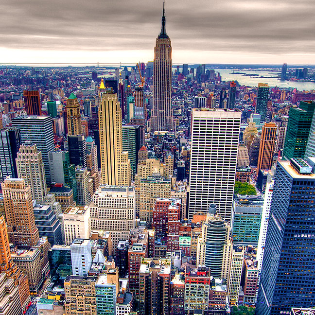 Empire State Building and Midtown Manhattan
