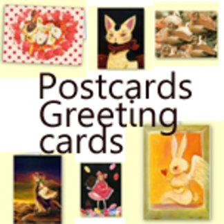 ポストカード・グリーディングカードPostcards・Greeting cards