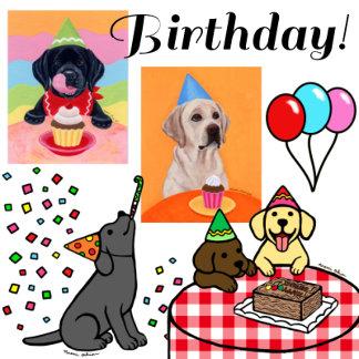 Labrador Birthday