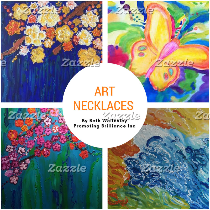 Art Necklaces by Beth Wellesley