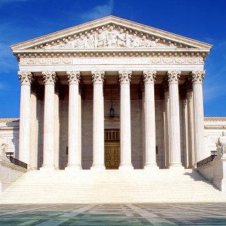 US Supreme Court building, Washington DC, USA