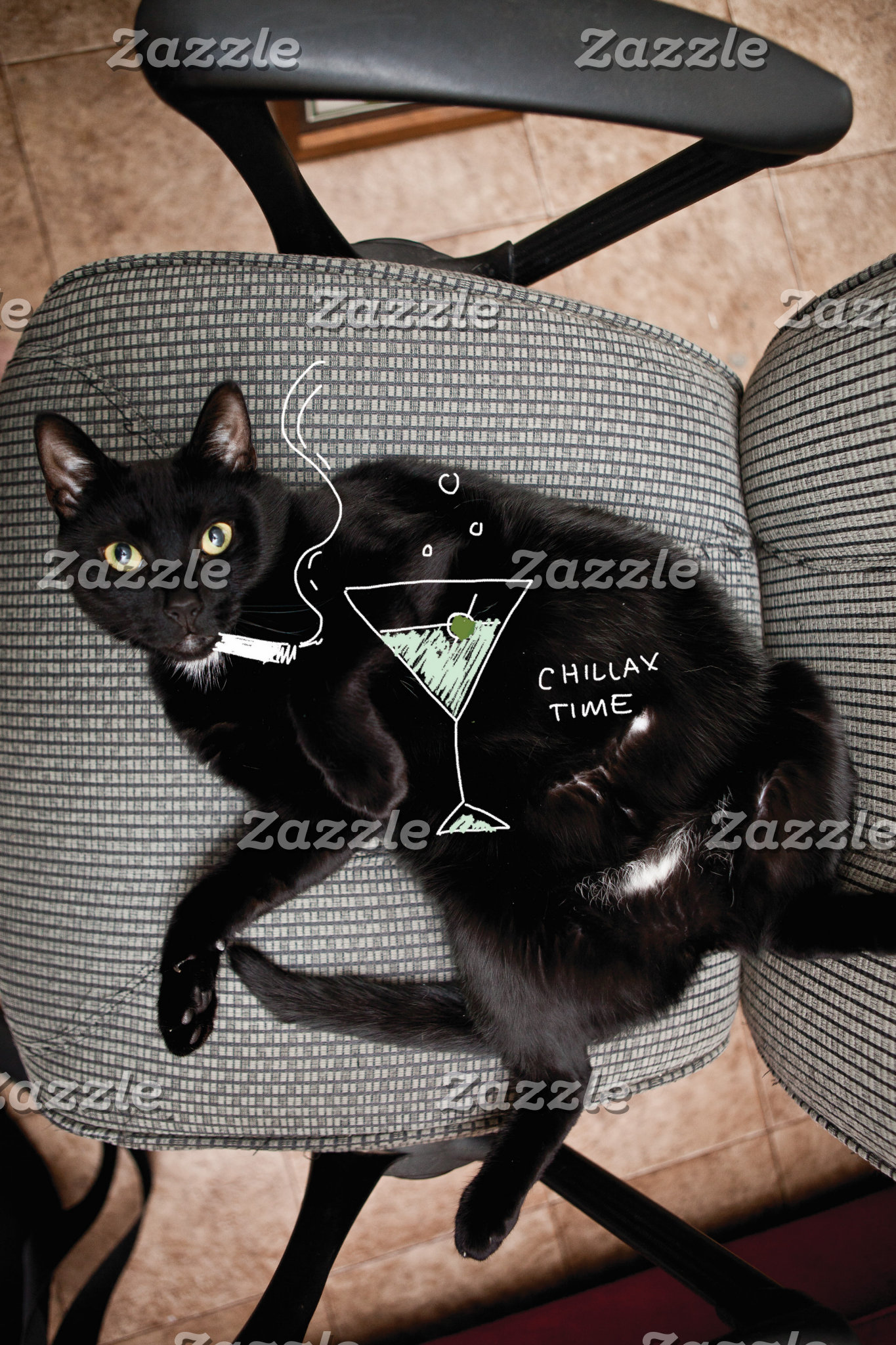 Chillax Cat