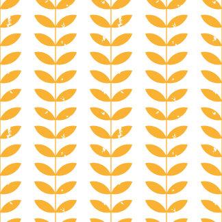 Scandinavian retro style yellow twigs