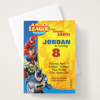 Justice League Birthday