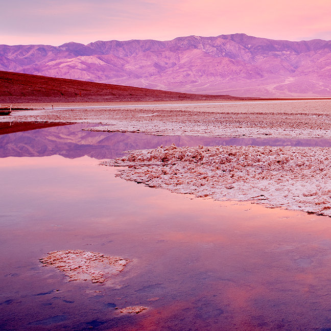 Salt Water Lake, Badwater, Death Valley
