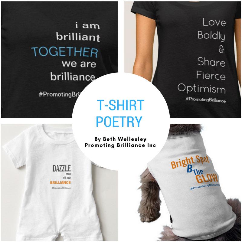 T-Shirt Poetry by Beth Wellesley