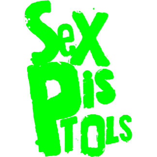 Sex Pistols Logo - Green