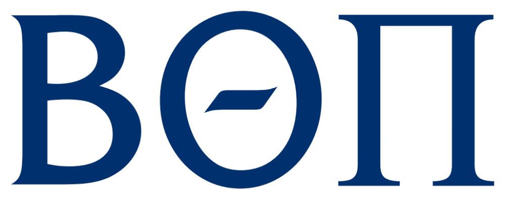 Beta Theta Pi Greek Letters