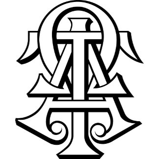 Alpha Tau Omega Interlocked Letters