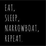 Eat, Sleep, Narrowboat, Repeat