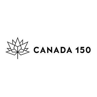 Canada 150 Horizontal Black