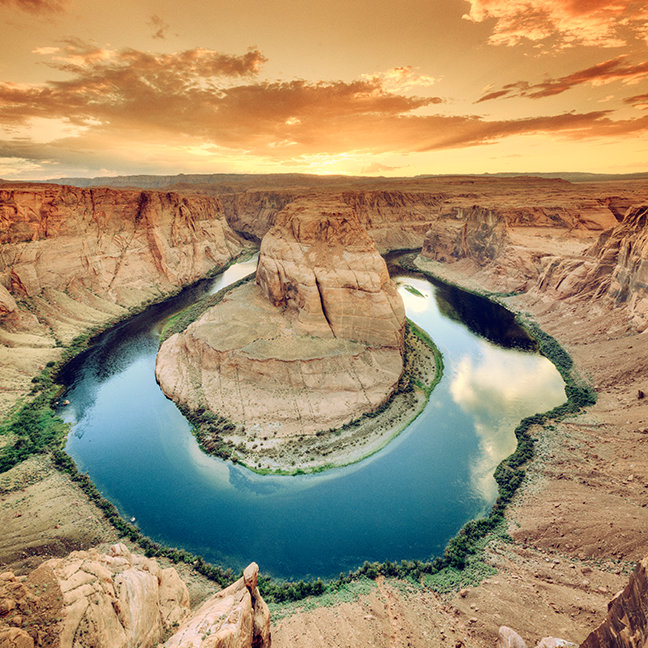 Horseshoe Bend Caynon