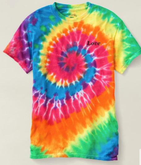 Tie-Dye T-Shirts, Love