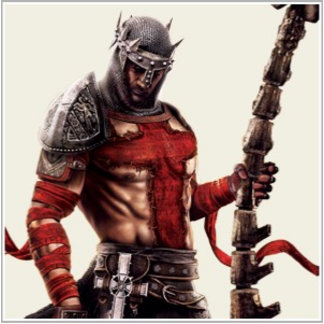 Dante's Inferno - Dante with Scythe