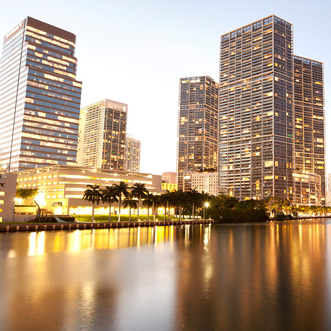 Downtown and Brickell Key, Miami, Dade County
