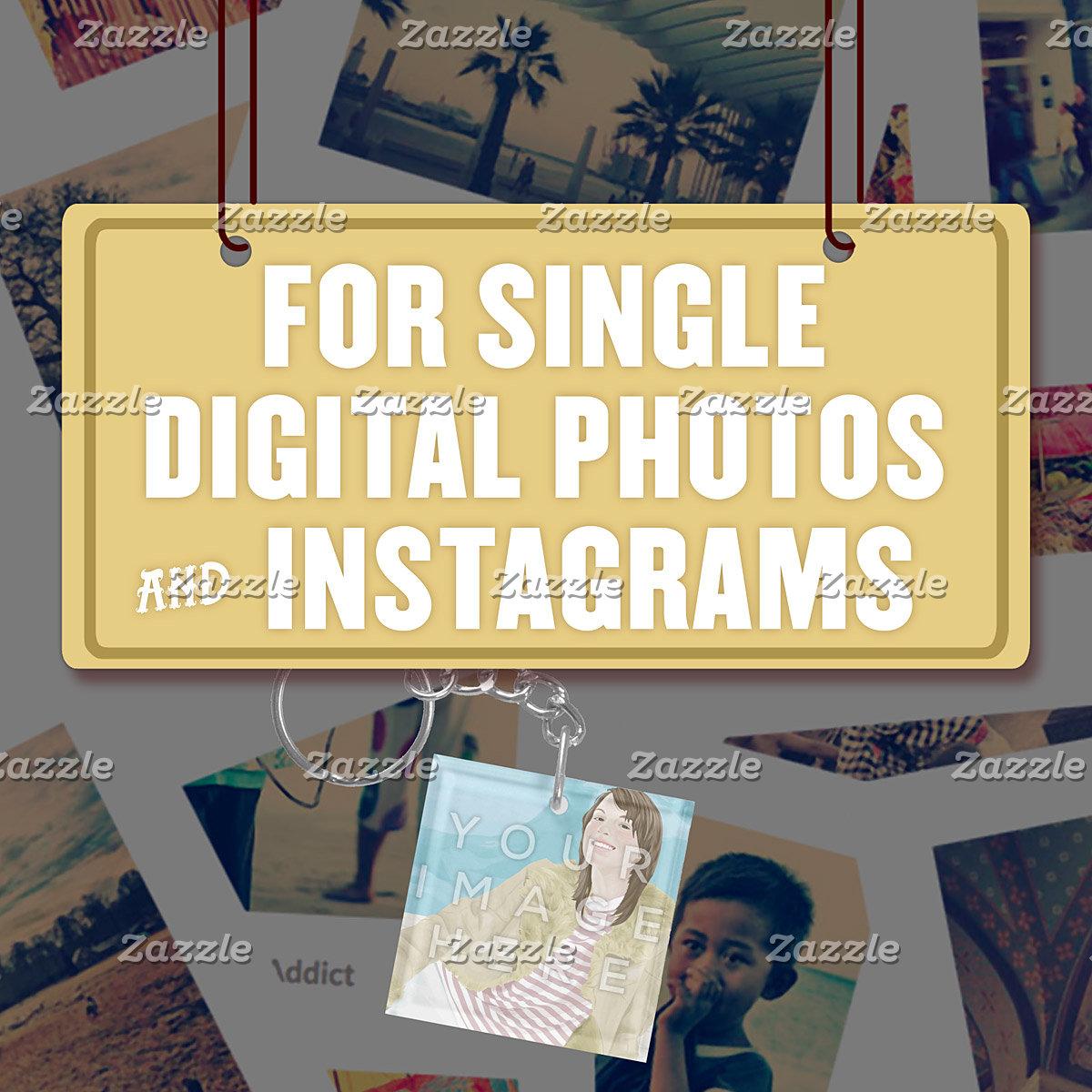 For Single (1) Digital Photos & Instagrams