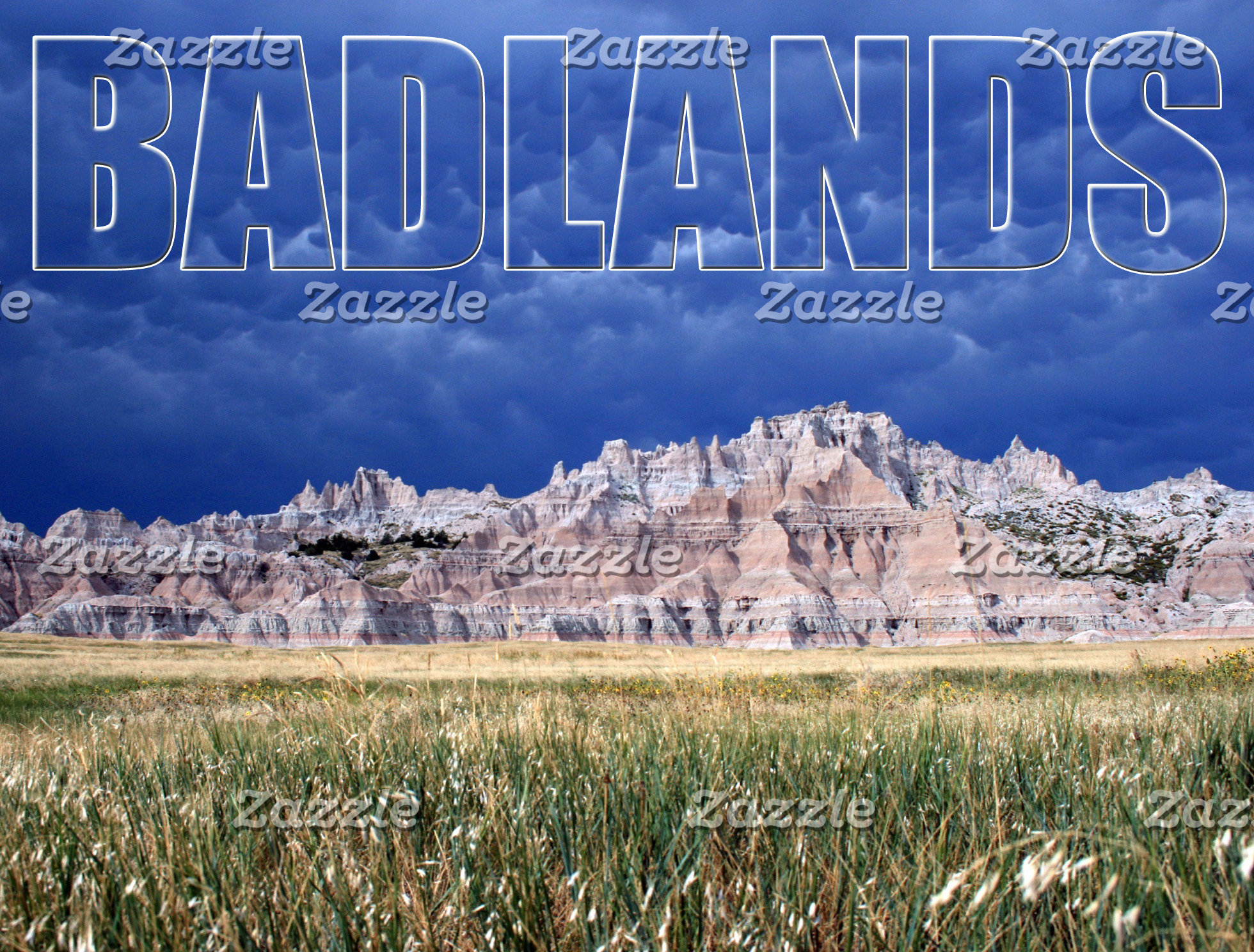 Badlands, South Dakota (USA)