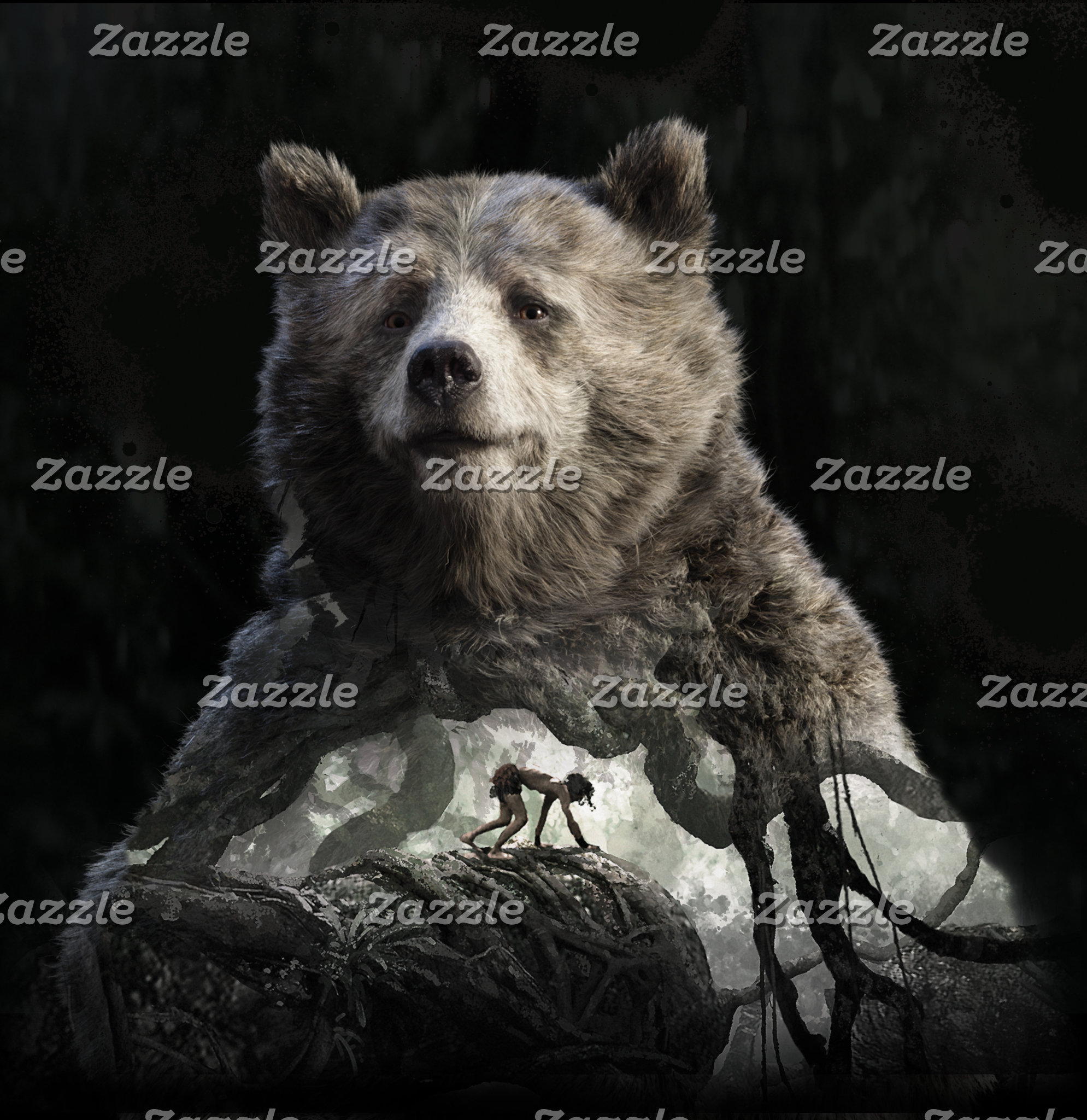 Baloo & Mowgli - Jungle Book