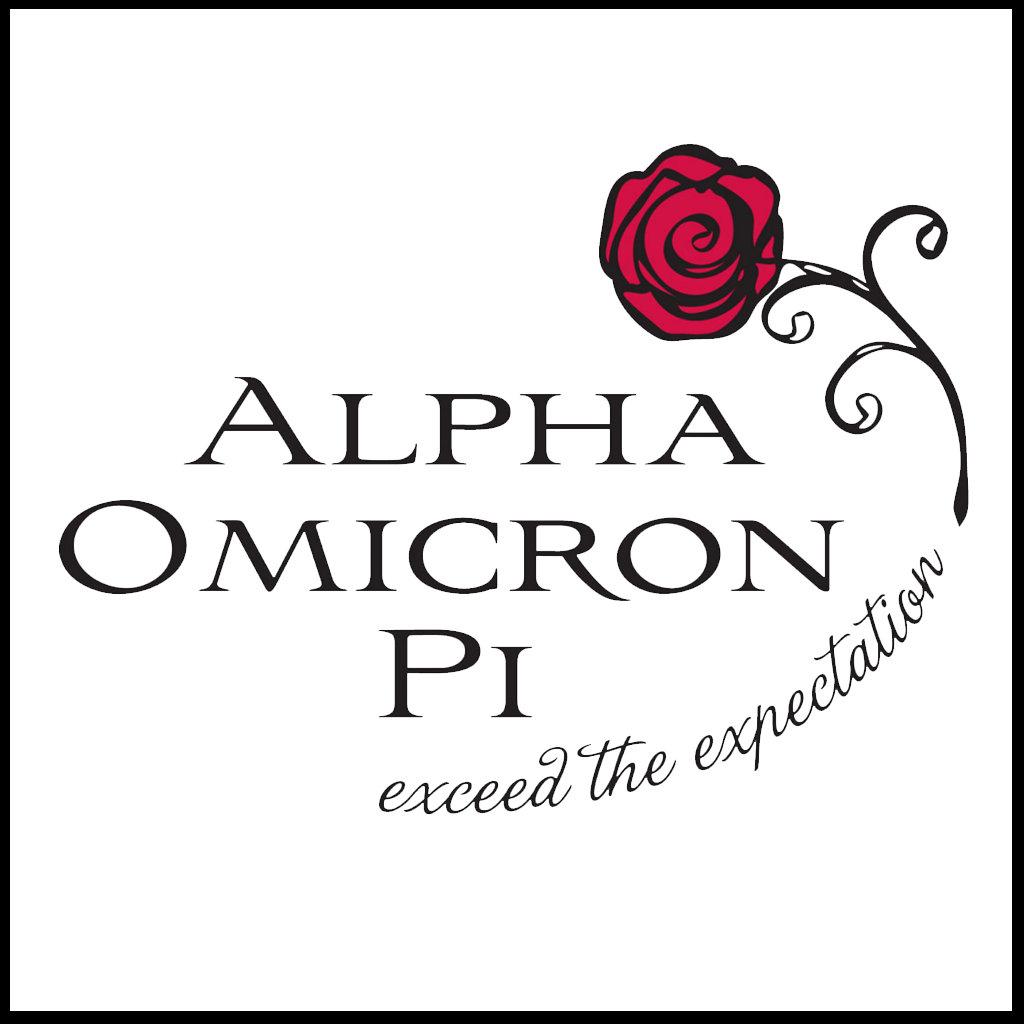 Alpha Omicron Pi Rose