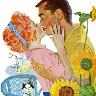 Saturday Evening Post Fashion Illustration
