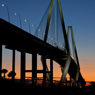 Arthur Ravenel Jr. Bridge at Dusk