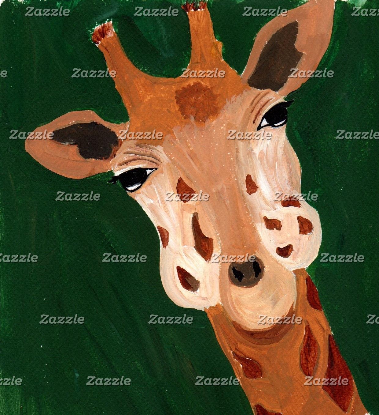 Douce, la Girafe