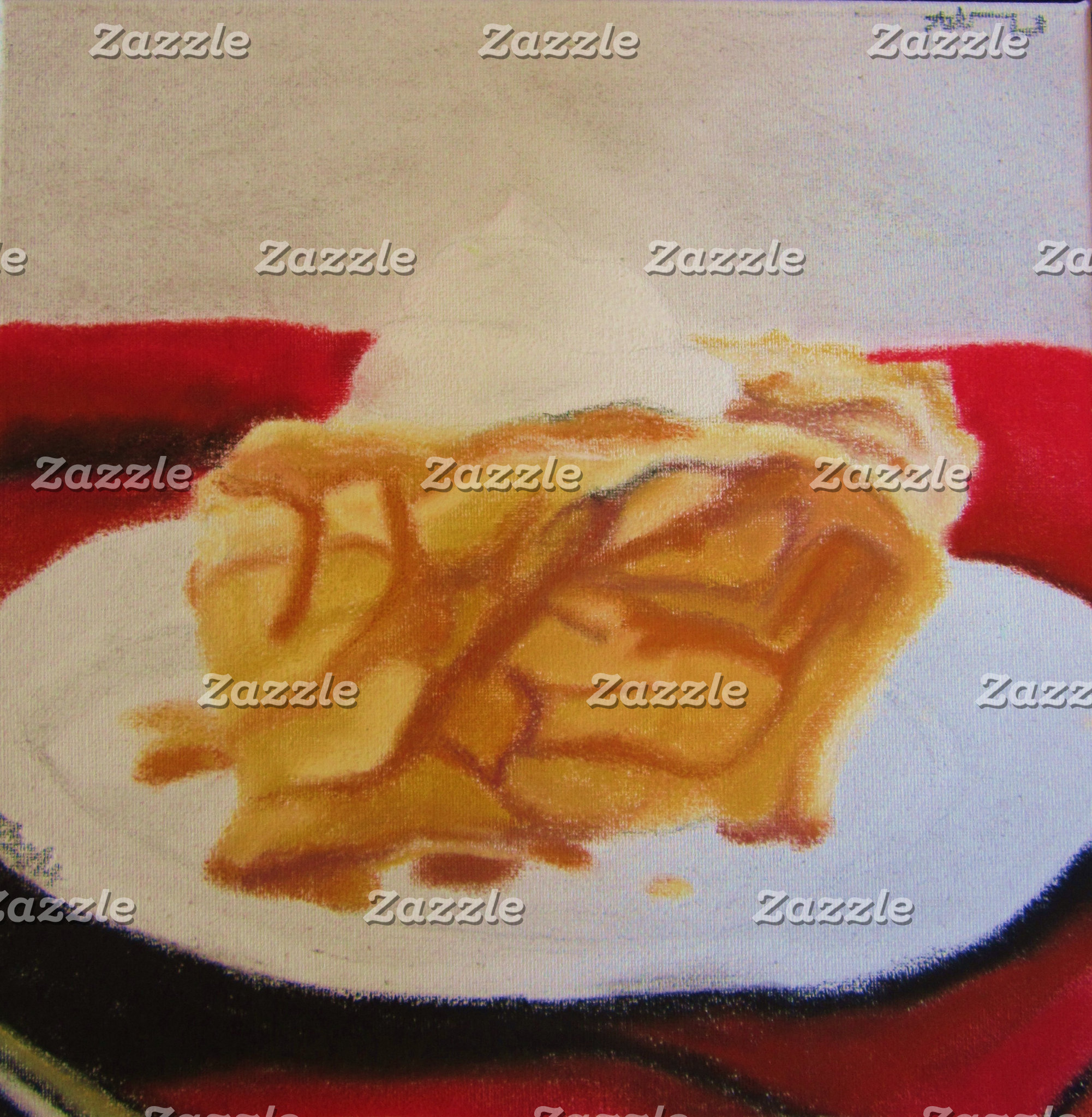 """Caramel Cinnamon Apple Pie"""