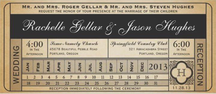 Wedding Ticket Collection III