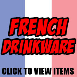 French Mugs, Glasses and Drinkware