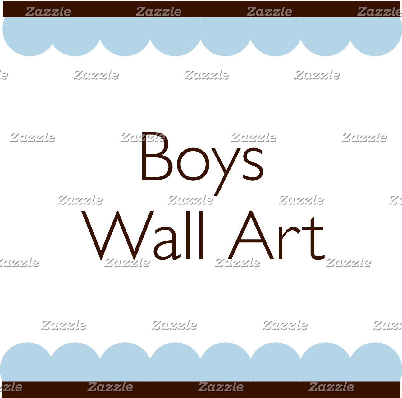 Wall Art for Boys