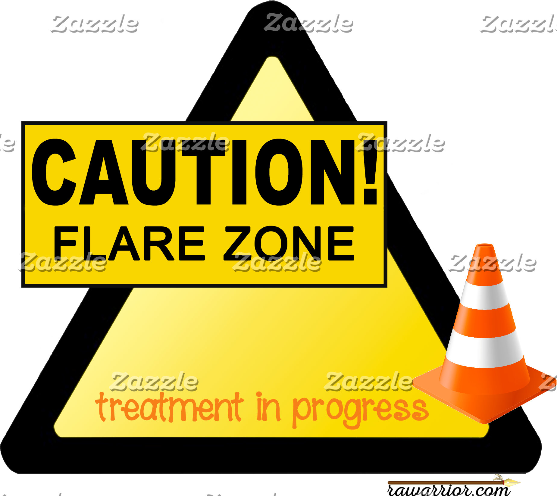 Caution: Flare Zone