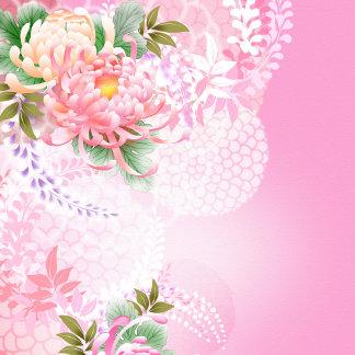 Floral, Plants, Leaves