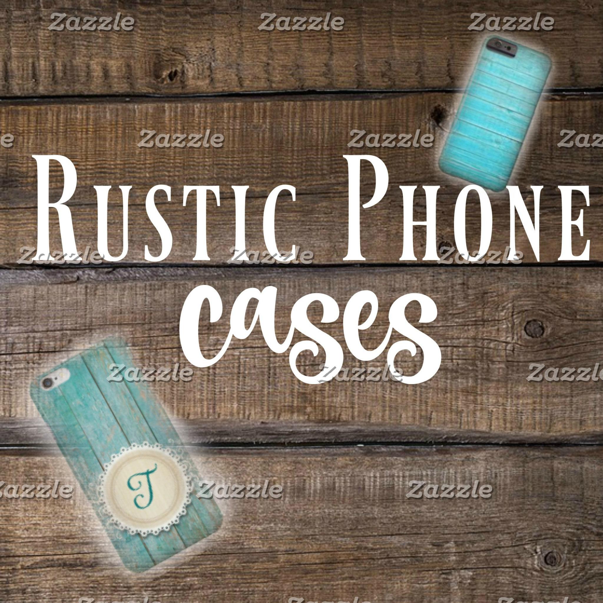 Rustic Phone Cases