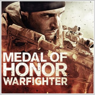 Medal of Honor Warfighter Closeup