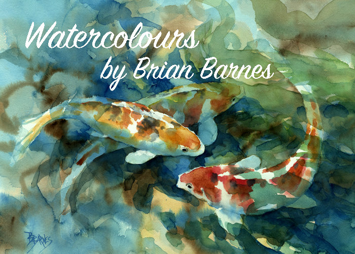 Watercolours by Brian Barnes
