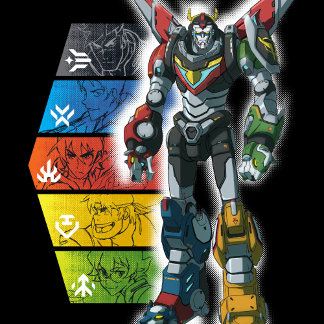 Voltron | Voltron And Pilots Graphic