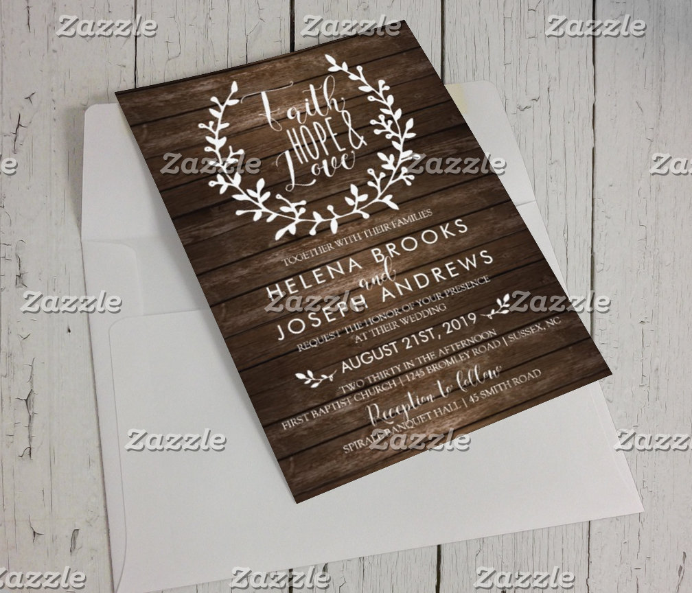 Wooden Wedding Collection