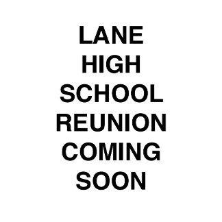 Lane High School Reunion