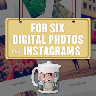For Six (6) Digital Photos & Instagrams