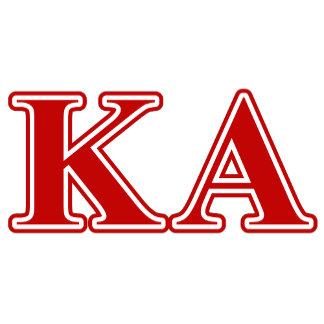 Kappa Alpha Order Red Letters