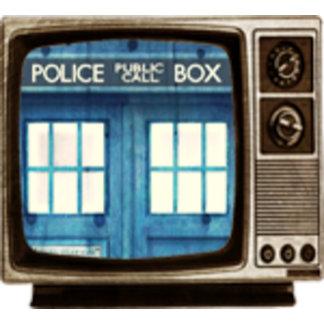 Vintage Police phone Public Call Box