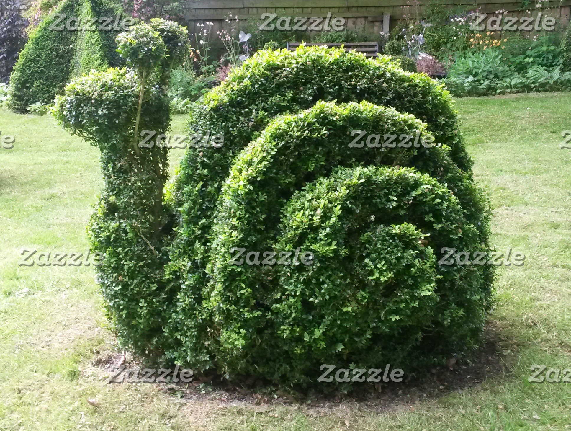 Topiary snail