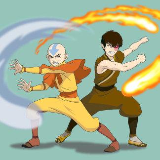 Aang & Prince Zuko Firebender