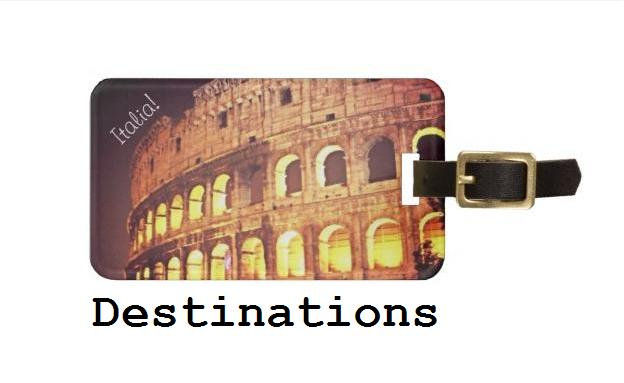 Luggage Tags - Destinations