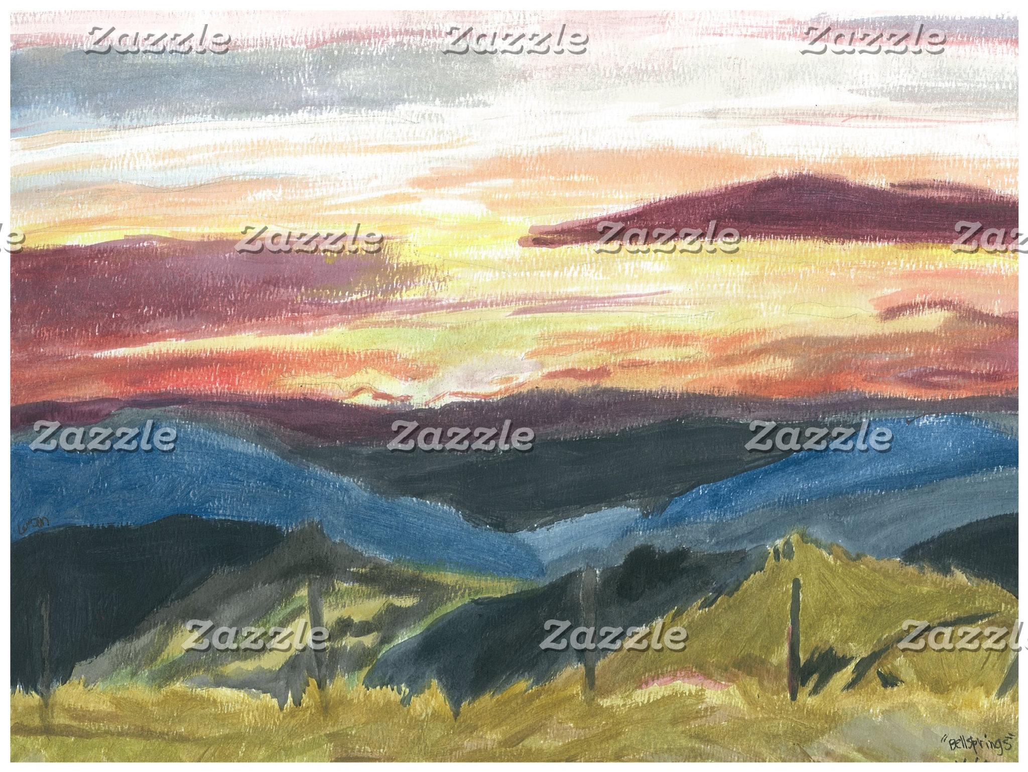 """""""Bell Springs Sunrise"""""""