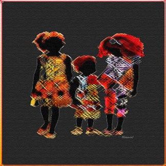 Little  African Girls