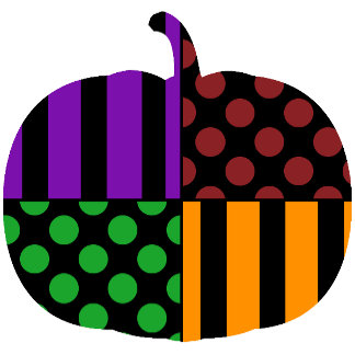 Halloween Stripes and Dots