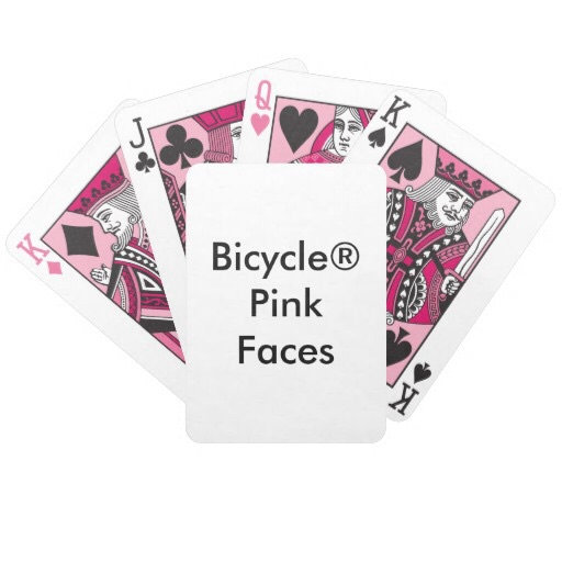 Bicycle® PINK Faces