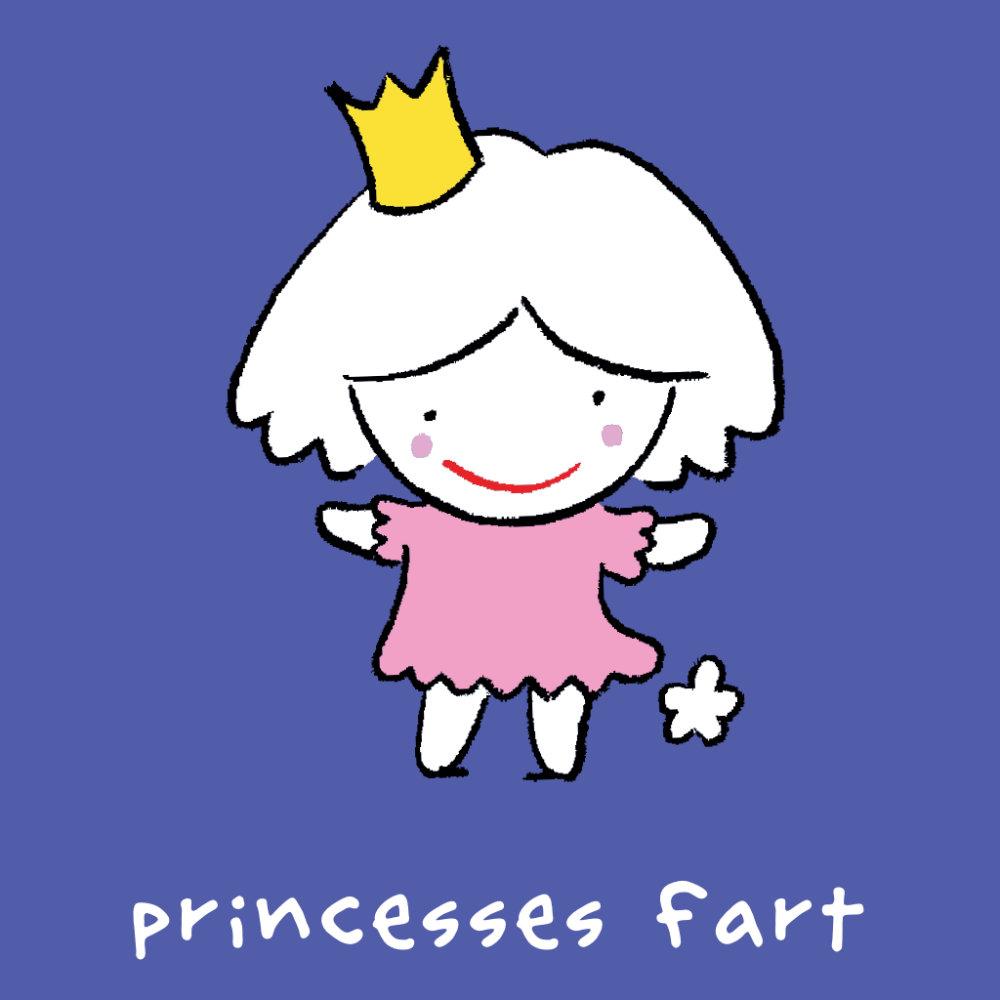 Princesses fart